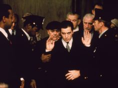 1974 - 'The Godfather Part II' | Al Pacino, center, stars in the first sequel to win the top prize.