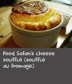 Food Safari's cheese soufflé (soufflé au fromage)   A mix of simple ingredients and clever techniques makes the light and creamy masterpiece that is soufflé. Use the best cheese you can source and serve straight away. For a tasty variation, try Vincent Gadan's raspberry souffle recipe. Also, browse our cake recipes for more sweet inspiration.