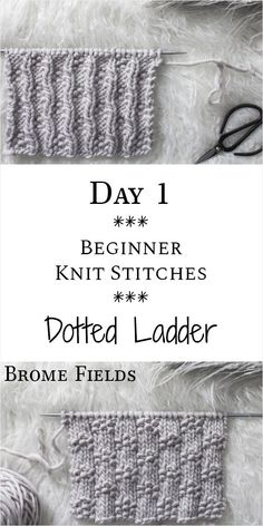Ladder Knit Stitch : Day 1 of the 21 Days of Beginner Knit Stitches : Bro. Dotted Ladder Knit Stitch : Day 1 of the 21 Days of Beginner Knit Stitches : Bro., Dotted Ladder Knit Stitch : Day 1 of the 21 Days of Beginner Knit Stitches : Bro. Knitting Terms, Beginner Knitting Patterns, Knitting Basics, Knitting Stiches, Knitting For Beginners, Knitting Needles, Free Knitting, Simple Knitting, Knitting Ideas