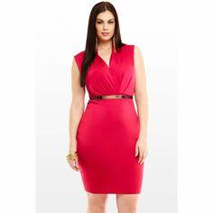 Lindos vestidos de fiesta para gorditas   Moda 2014
