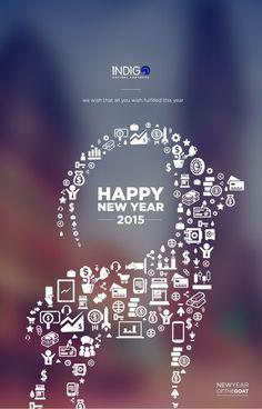 Happy New Year card by yasuyassyash