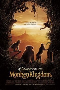 "Poster art for ""Monkey Kingdom."""
