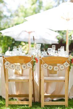 Bride and Groom Seating Decor | Elsa Vera Productions https://www.theknot.com/marketplace/elsa-vera-productions-santa-rosa-ca-386679 | Sabine Scherer Photography https://www.theknot.com/marketplace/sabine-scherer-photography-san-francisco-ca-366412