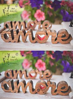 wooden typography, 2 Dzięcioły # 2 Woodpeckers https://www.facebook.com/dwadziecioly
