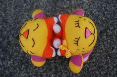 023 | orange #cats #plush #toy #handmade