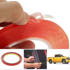 [$2.35] 6mm 3M Double Sided Adhesive Sticker Tape for iPhone / Samsung / HTC Mobile Phone Touch Screen Repair, Length: 25m