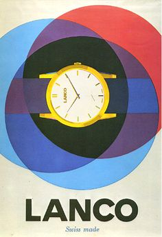 Graphic Designer Bob Noorda's Very Systematic Mind  Lanco Watch