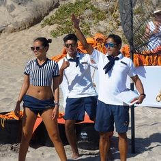 Thanks to the phenomenal entertainment staff at Secrets Puerto Los Cabos Golf & Spa Resort, who made our incentive group's Beach Olympics party so much fun! #NationalSunglassesDay