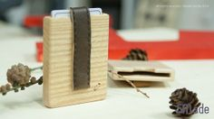 Wood Credit Card Case by SMadeshop on Etsy, $35.00