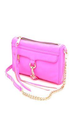 Rebecca Minkoff Neon Mini MAC Bag | SHOPBOP
