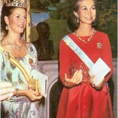 Happy 79th Birthday to Queen Sofia of Spain!♥ #queensilvia #queensofia