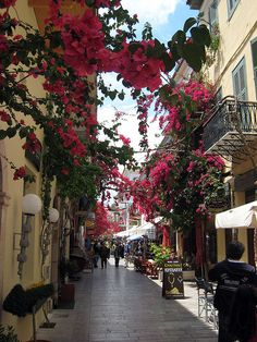 Street view in Nafplio, Peloponnese, Greece