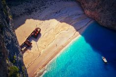 Zakynthos island's Shipwreck Cove Navagio Beach Greece  Photography by Alistair Ford
