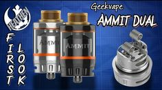 First Look at the Ammit Dual from Geekvape I Giveaway I Heathen