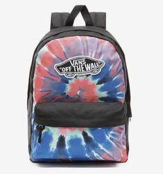 Red Vans, Pink Vans, Mini Backpack, Backpack Bags, Vans Rucksack, Macbook, Skateboard Outfits, Cute Backpacks For School, Tie Dye Vans