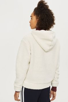 Sherpa Hoodie - New In Fashion - New In - Topshop Europe