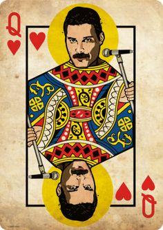 Ideas for wallpaper celular bloqueo rock Art Pop, Reine Art, Queen Art, Queen Queen, Queen Freddie Mercury, Freddie Mercury Tattoo, Killer Queen, Band Posters, Rock Posters