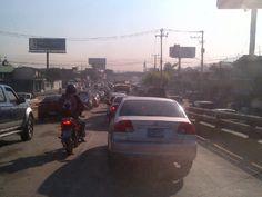 Tráfico en Los Próceres a esta hora vía @marielosaquino