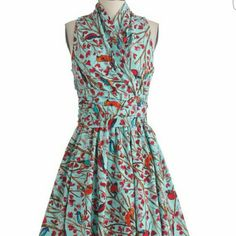 ISO Modcloth Retrolicious Bird Dress in M or L Please help!!! I need this dress for a rehearsal dinner and my fiance lovesssss birds. I will pay a pretty penny for this one!! Need in a medium or large. Please help me find this :))) ModCloth Dresses