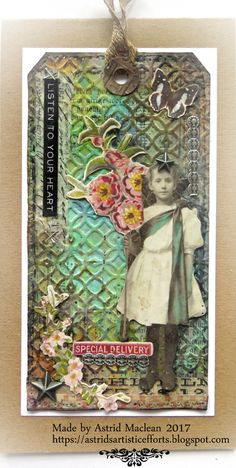 Spring Queen tag Friday at A Vintage Journey