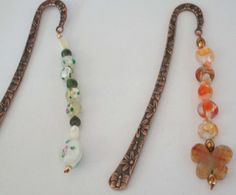 Bronze Bookmark with Glass Foil, MOP and Jade Beads or Red w/Coral Beads: http://www.outbid.com/auctions/15073-dollar-deals-32-all-starting-bids-under-5#17-5/12/13-6:30pmMST