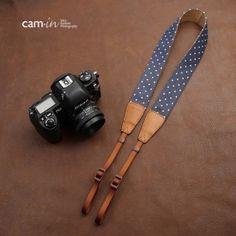 デニムユニバーサル カメラストラップ - SeabenFoto