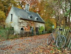A charming little cottage somewhere in France - Pixdaus