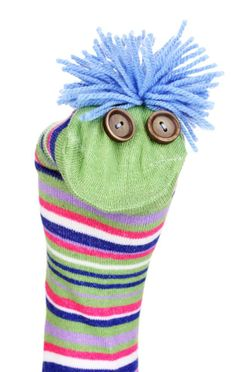 The fastest and most expedient way to clean venetian blinds is with a pair of old socks (preferably without holes). Preschool Projects, Preschool Activities, Crafts For Kids, Arts And Crafts, Sock Puppets, Shadow Puppets, Sock Dolls, Baby Sewing Projects, Sock Animals