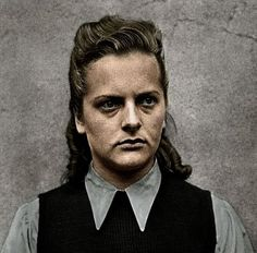 Irma Ida Ilse Grese 7 October 1923 13 December 1945 was a female SS guard at the Nazi concentration camps of Ravensbrck and Auschwitz and served as ward Indira Ghandi, Historia Universal, The Third Reich, Women In History, Famous Women, My Heart Is Breaking, Ww2, Prison, Female