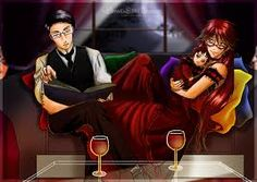 grell x william Domestic bliss