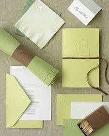 """Тиснение за """"так"""" Для конвертов, колец для салфеток и др.    Martha Stewart"""