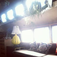 Man Converts 1948 Chevy Bus into Tiny Home Photo