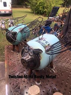 Twisted Mind Rusty Metal
