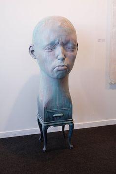Blue - man - sad face - Samuel Salcedo