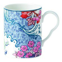 Wedgwood Butterfly Bloom Mug, Multicolor. Available at OurPamperedHome.com