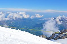 engelberg from mount titlis