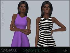 Sims4Pose's S4P Spring Time Dress
