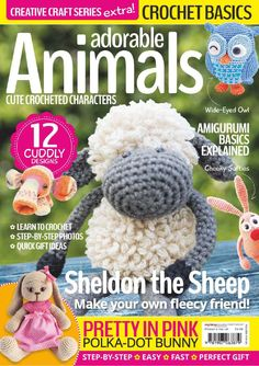 ISSUU - Adorable animals cute crocheted characters by Catherine Williams