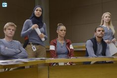 "#Quantico 1x09 ""Guilty"" - Caleb, Nimah, Natalie, Brandon and Shelby"