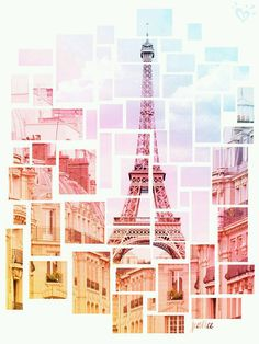 Pieces Imagen así en un mural pared pero con fotos o inspiraciones en forma de algo representativo