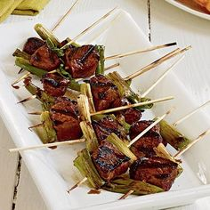Learn how to make Beef Tenderloin Yakitori. MyRecipes has 70,000+ tested recipes and videos to help you be a better cook