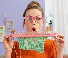 Rámeček na pletení DIY knitting