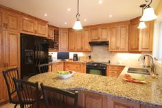 OakWood offers many different cabinetry options and pricing. #kitchen #cabinetry