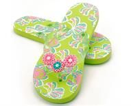want to add more detail to your flip-flops? EASY! make a design with perler beads, then glue it on to your flip-flops!!