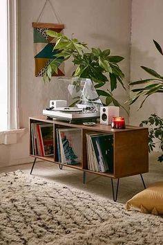 Record player setup Record Table, Record Player Table, Record Player Cabinet, Lp Player, Record Player Furniture, Vinyl Record Shelf, Record Decor, Vinyl Record Holder, Stereo Cabinet