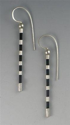 Silver & black tubing