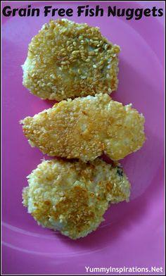 Grain Free Fish Nuggets Recipe