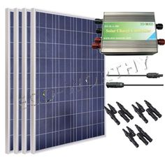 400Watt Poly Solar Panel Kitï4100W Solar Cell Off Grid for 12V System RV Boat