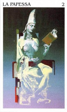 The High Priestess - Tarocchi di Ferenc Pintér