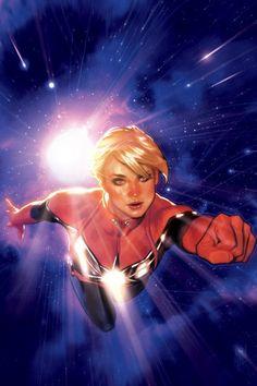 walkyriesetamazones:  Captain Marvel #1 - Variant Cover by Adam Hughes